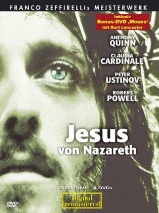 Jesus von Nazareth - (Sonderedition mit Moses 5 DVDs) (1977)
