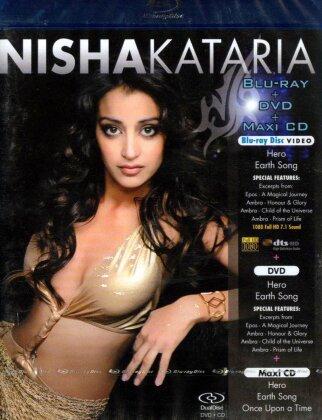 Nisha Kataria - Nisha Kataria (Blu-ray + DVD + CD)