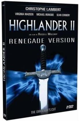 Highlander 2 - Renegade Version (1990) (Director's Cut, 2 DVDs)
