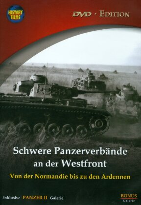 Schwere Panzerverbände an der Westfront (s/w)
