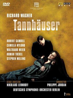 Deutsches Symphonie-Orchester Berlin, Philippe Jordan, … - Wagner - Tannhäuser (Arthaus Musik, 2 DVDs)