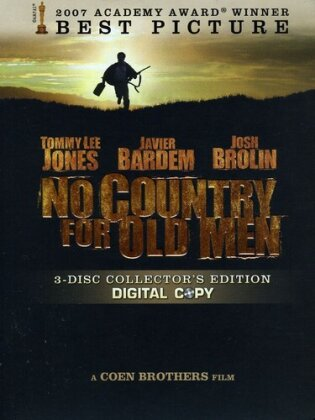No Country for Old Men (2007) (Collector's Edition, DVD + Digital Copy)