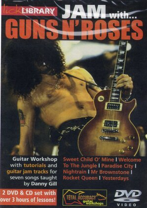 Guns N' Roses - Jam with Guns N' Roses (Inofficial, 2 DVDs + CD)