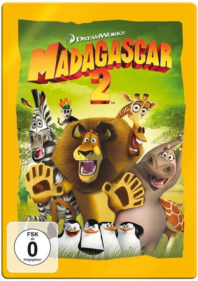 Madagascar 2 (2008) (Limited Edition, Steelbook)