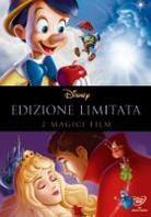 Pinocchio / La bella addormentata nel bosco (Limited Edition, 4 DVDs)
