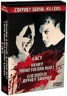 Gacy / Henry / La vie secrète de Jeffrey Dahmer - Coffret Serial Killers (3 DVDs)