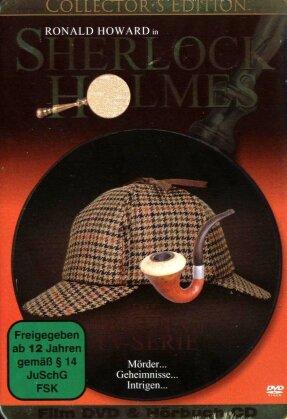 Sherlock Holmes - Die original TV-Serie (DVD + Hörbuch-CD) (Collectors Edition, s/w, Steelbook)