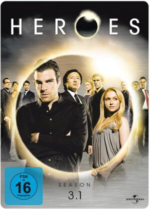 Heroes - Staffel 3.1 (Steelbook, 3 DVDs)
