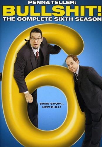 Penn & Teller: Bullshit! - Season 6 (2 DVDs)