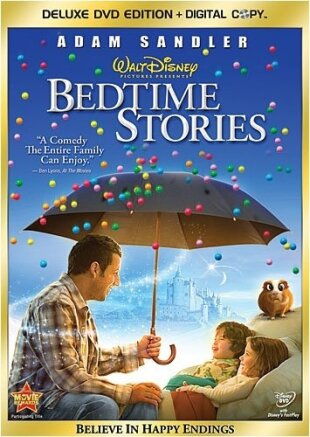 Bedtime Stories (2008) (Deluxe Edition, DVD + Digital Copy)