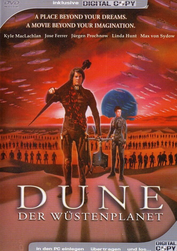 Dune - Der Wüstenplanet - (inkl. Digital-Copy) (1984)