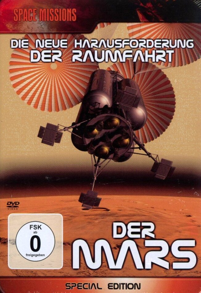 Space Missions - Der Mars (Special Edition, Steelbook)