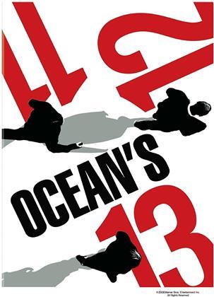 Ocean's Eleven/Ocean's Twelve/Ocean's Thirteen (Gift Set, 3 DVDs)