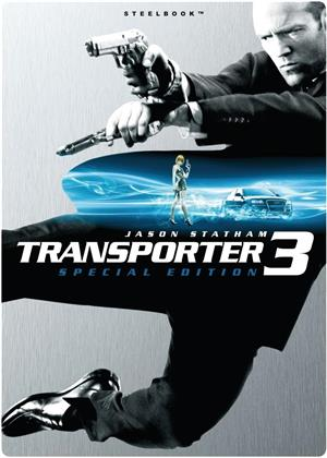 Transporter 3 (2008) (Deluxe Edition, Steelbook)