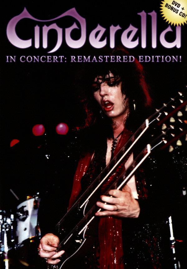 Cinderella - In Concert (Remastered, DVD + CD)