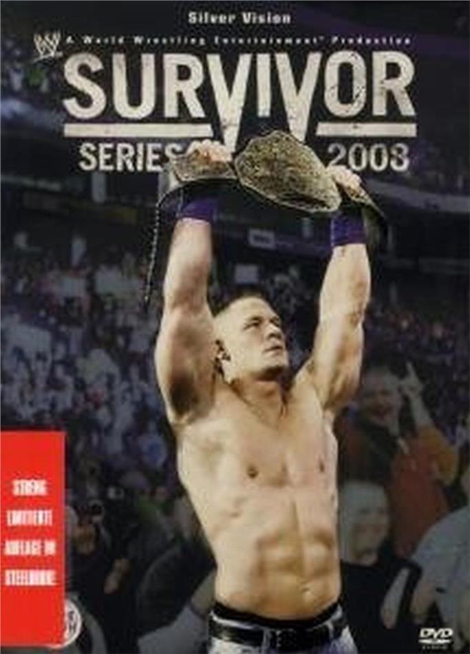 WWE Survivor Series 2008 (Steelbook)