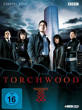 Torchwood - Staffel 1 (BBC, 4 DVDs)