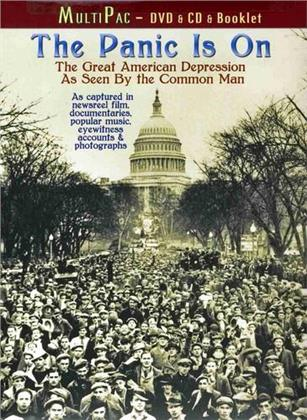 The Panic Is On - The Great American Depression as seen by the Common Man (DVD + CD)