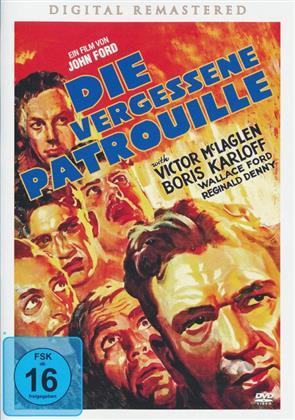 Die vergessene Patrouille (1934) (s/w, Remastered)