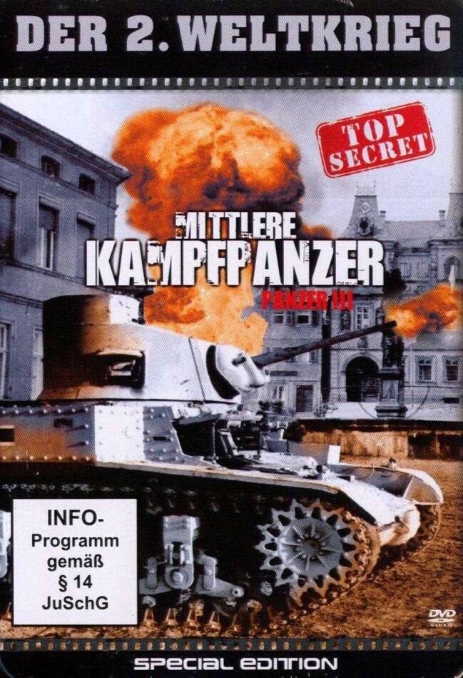 Der 2. Weltkrieg - Mittlere Kampfpanzer - Panzer 3 (Steelbook)