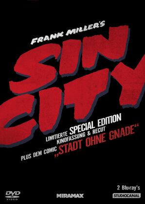 Sin City - (Kinofassung & Recut inkl. Comic / Limitierte Special Edition / 2 Discs) (2005)