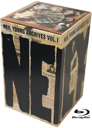 Neil Young - Archives Vol. 1 (1963-1972) (10 Blu-rays)