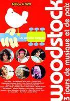 Various Artists - Woodstock (4 DVDs)