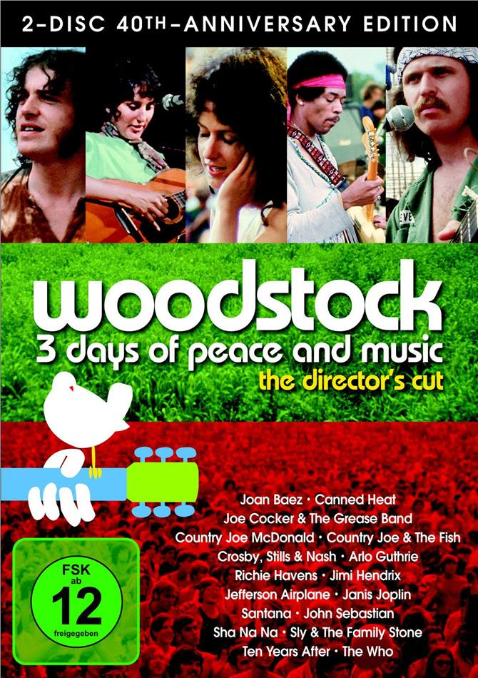Various Artists - Woodstock (40th Anniversary Special Edition, 2 DVDs)