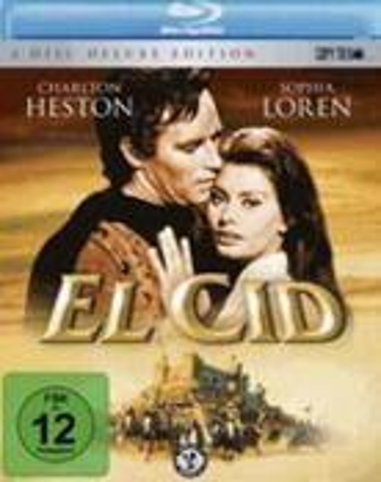 El Cid (1961) (Blu-ray + 2 DVDs)