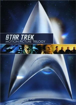 Star Trek - Motion Picture Trilogy (Remastered, 3 DVDs)