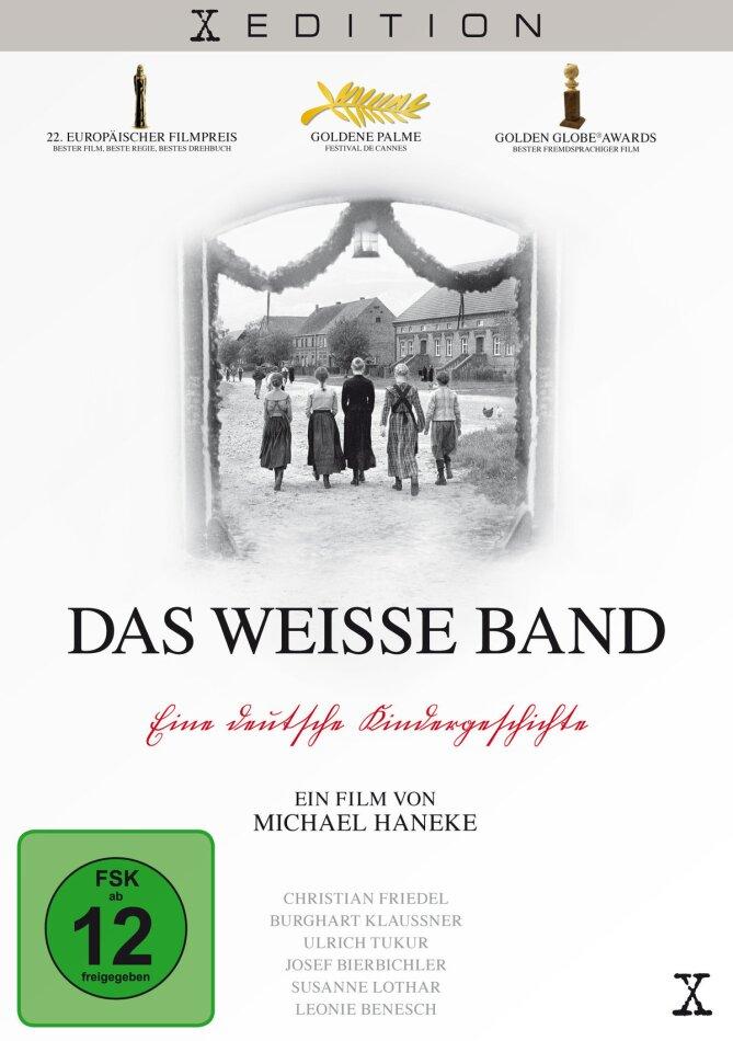 Das weisse Band - Eine Deutsche Kindergeschichte (2009) (s/w)