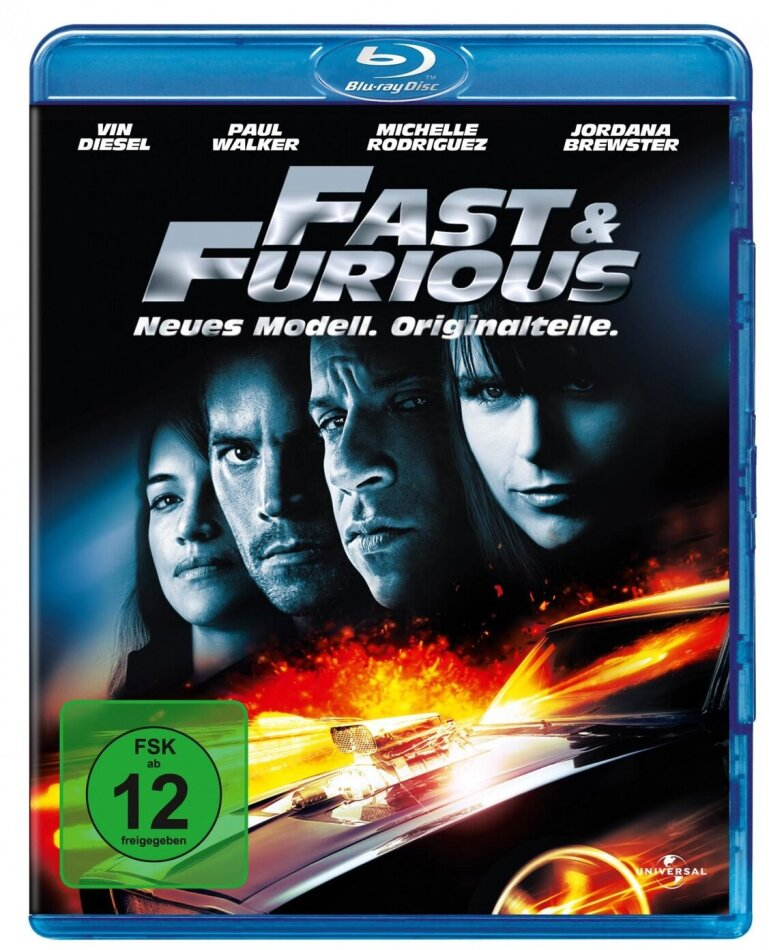 Fast and Furious 4 - Neues Modell. Originalteile. (2009)