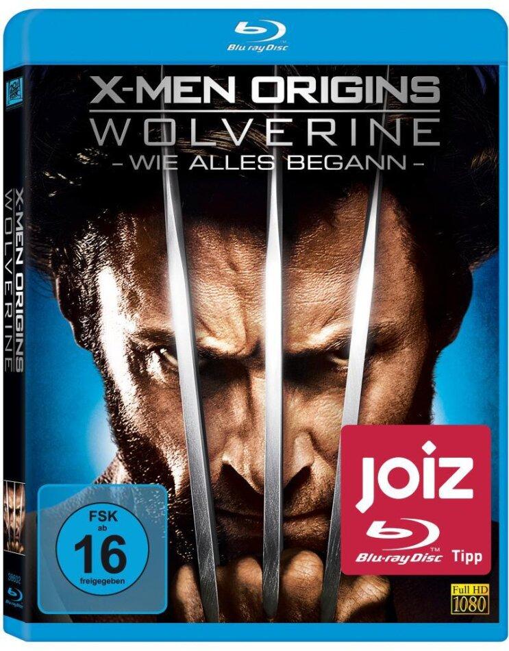 X-Men Origins: Wolverine (2009) (Blu-ray + DVD)