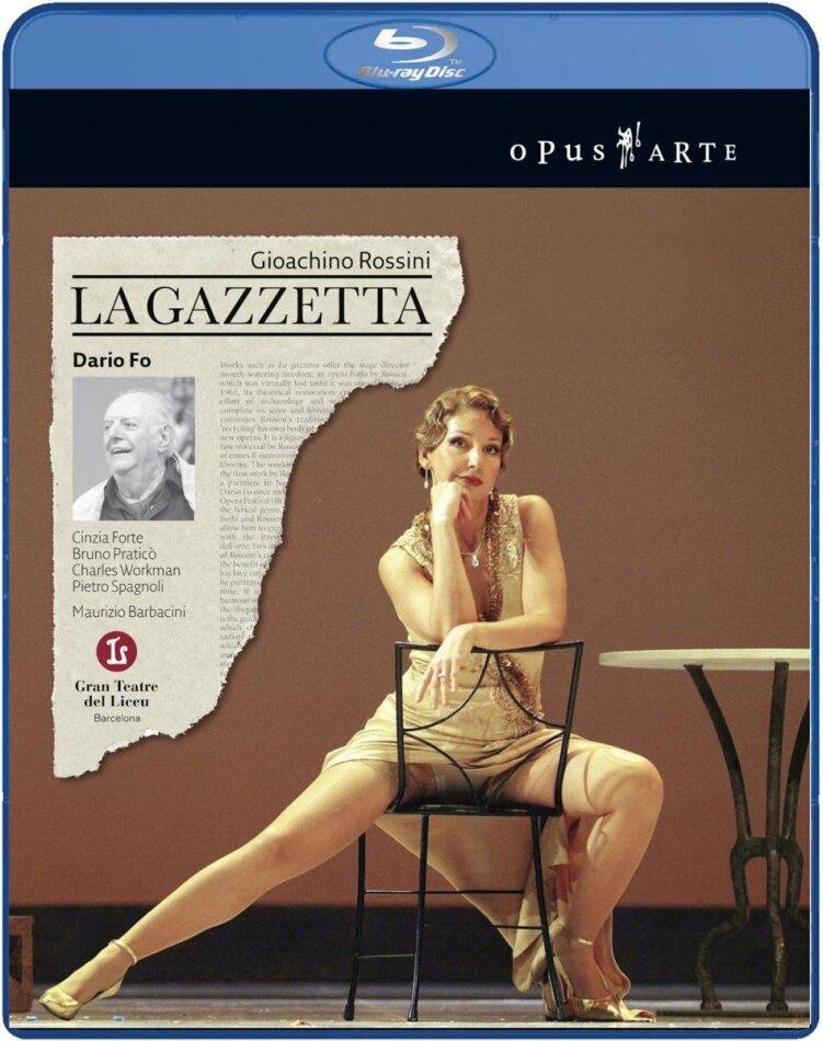 Orchestra of the Gran Teatre del Liceu, Maurizio Barbacini, … - Rossini - La Gazzetta (Opus Arte)
