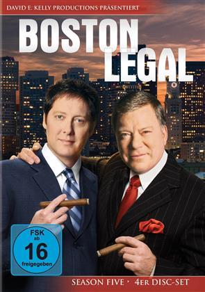 Boston Legal - Staffel 5 (4 DVD)