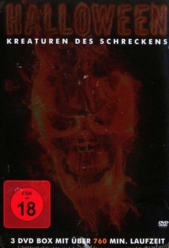 Halloween - Kreaturen des Schreckens (Steelbook, 3 DVD)