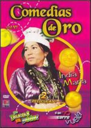 Comedias de Oro: La India Maria - Vol. 6: Las Delicias Del Poder/El Que No Corre Vue