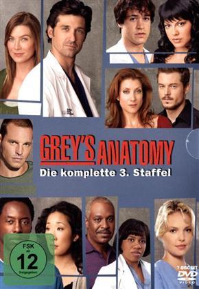 Grey's Anatomy - Staffel 3 (7 DVDs)