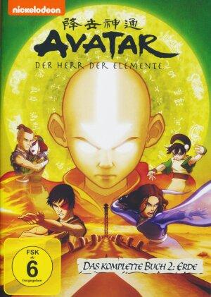 Avatar - Der Herr der Elemente - Das komplette Buch 2: Erde (2006) (4 DVDs)
