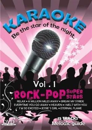 Karaoke - Rock-Pop Super Stars, Vol. 1