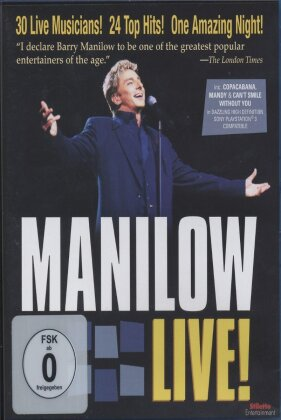 Manilow Barry - Live!