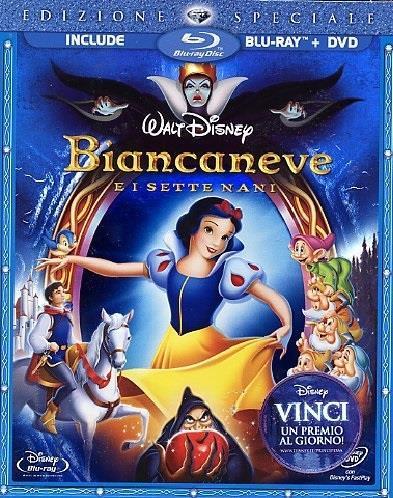 Biancaneve e i sette nani (1937) (Blu-ray + DVD)