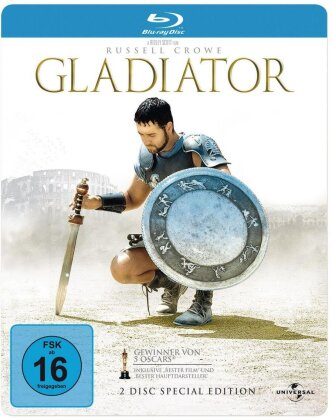 Gladiator (2000) (Special Edition, Steelbook, 2 Blu-rays)