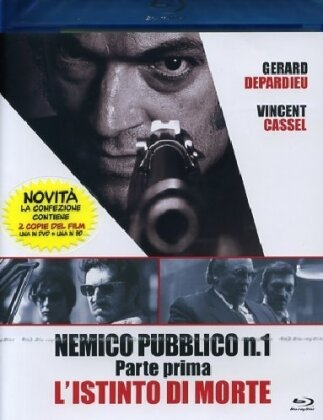 Nemico Pubblico N. 1 - L'istinto di morte (Parte 1) (2008) (Blu-ray + DVD)