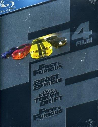 Fast and Furious Ultimate Collection (Steelbook, 4 Blu-rays)