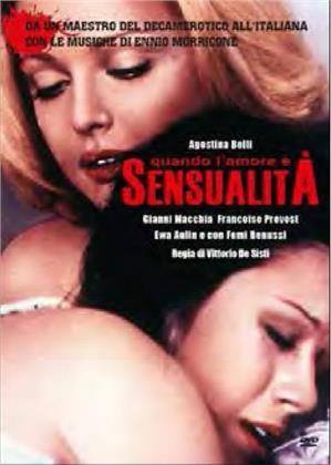 Quando l'amore è sensualità (1973) (Collana CineKult, Neuauflage)