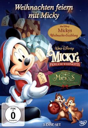 Micky Maus - Weihnachten feiern mit Micky - Box (3 DVDs)