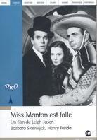 Miss Manton est folle - (Collection RKO) (1938)