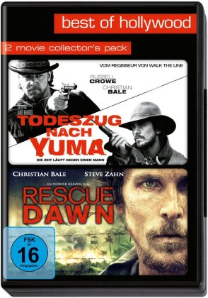 Todeszug nach Yuma / Rescue Dawn - Best of Hollywood 79 (2 Movie Collector's Pack)