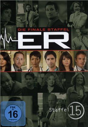 ER - Emergency Room - Staffel 15 - Finale Staffel (3 DVDs)